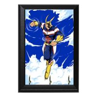 All Might Decorative Wall Plaque Key Holder Hanger $15.00 https://www.nurdtyme.com