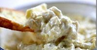 easy-artichoke-dip-recipe #yum #amazing remodelaholic.com #recipe
