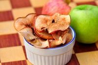 Baked Cinnamon Apple Chips are impossibly easy and incredibly delicious.