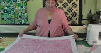 Self Binding Baby Quilt. Super easy Love it from missouriquiltco..com