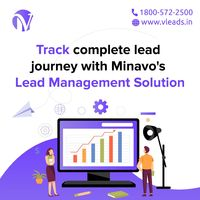 Get best Lead Management services in India with Minavo telecom Networks. Track complete Lead Journey with Minavo's Lead Management Solution Call Now 1800 -572-2500 