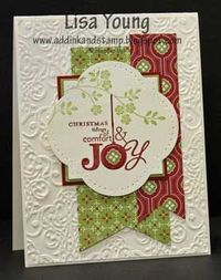 by Lisa Young, Add Ink and Stamp: Some Christmas Joy
