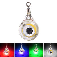 ZANLURE LED Underwater Fish Attraction Lure Light Luminous Colorful Fishing Lamp IP67 Waterproof