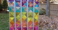 loveslavandula: Spectrum quilt pattern by Alison Glass by Toohey Sews on Flickr.