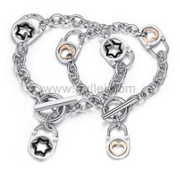 Gullei.com Celebrity Style Matching Unisex Chain Bracelets for Soulmates https://www.gullei.com/couples-gift-ideas/his-and-her-bracelets.html