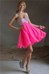 Short Sequin Prom Homecoming Dresses 2014