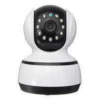 720P HD Security IP Mini WIFI Camera EU/US Plug without Memory Card for Car Home