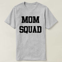 Mom Squad Shirt, Mom Squad T-shirt, Tee Top Shirt, Ladies Unisex Crewneck Shirt, Mother's Day, Mother's Day T-shirt, Gift for Mom $16.50