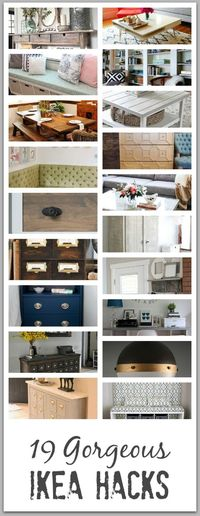 Here are 19 of my top favorite IKEA Hacks in the blogosphere! This collection will give you ideas of things�€� Read more »