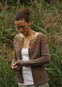 Noro used for the yoke