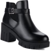 Spring Winter Platform Square Heel Ankle Martin Women Boots,NEW,on Sale! More Info:https://cheapsalemarket.com/product/spring-winter-platform-square-heel-ankle-martin-women-boots/