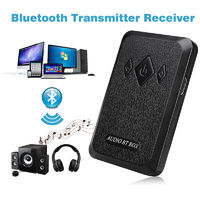 2 in 1 Bluetooth Receiver Transmitter HiFi Stereo Audio Bluetooth Box for Headphone Speaker Phone TV
