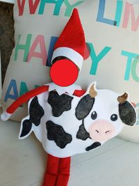 Cow Elf Costume