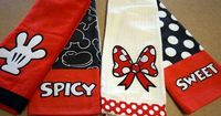 See and Win New Disney-Themed Kitchen Towel Sets