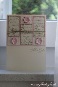 Stampin' Up! card