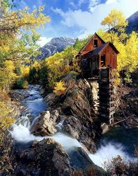 Old Mill, Crystal, Colorado How can you travel around the world without spending a fortune? click here: https://swisshalley.com/de/ref/future56