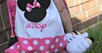 Heading to Disney, or just want to share the love? Make your very own DIY Minnie Mouse Drawstring backpack with this easy to follow tutorial.
