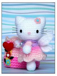 Big Hello Kitty Amigurumi Free Pattern | Hello kitty crochet ... | 266x200