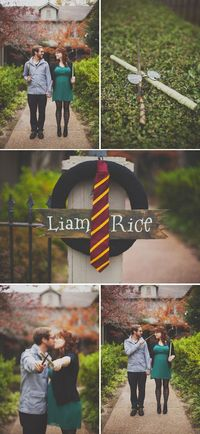 Romantic Maternity Shoot (with a Side of Harry Potter!)