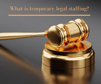 Why law firms hire temporary legal staff?   Law firms hire temporary staffing when the demand for employees is a need in a specific period. Shortage of Staff Replacement temporarily for employees went on vacation leave, maternity leave, employee illne...