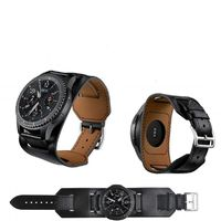 22MM/46MM Faux Thin Leather Cuff Band For Samsung Galaxy Watch Gear S3 AMAZFIT $34.99