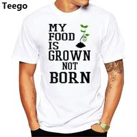 My Food Is Grown Not Born - T-Shirt £12.99