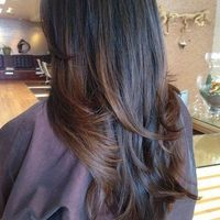 Had this done recently: asian hair balayage with brown hightlights