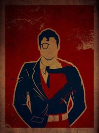 Every superhero is at least 50% nerd. Or most of them are, at least. These great poster designs by Danny Haas (self-described �€œHusband. Father. Artist. Geek.),