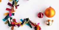 Easy FELT GARLAND | Learn how to make your own garland! DIY Tutorial from