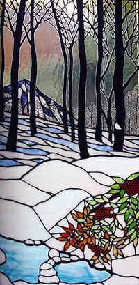 Thispostwas discovered by Alejandro Cunningham. Discover (and save!) your own Pins on Pinterest. | See more about stained glass, studios and trees.