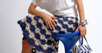 Bi-Color Skirt - �™� �™� ... #inspiration #diy GB http://www.pinterest.com/gigibrazil/boards/
