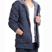Price: $42.78 | Product: New Latest Fashion Cotton Woollen Spandex Patchwork Casual Sweatercoat | Visit our online store https://ladiesgents.ca
