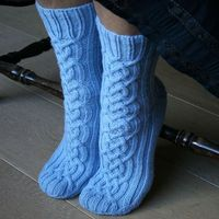 Viking Socks #knit #free pattern