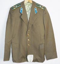 Blazer Colonel Daily Jacket Tunic Original Soviet USSR Russian Military Uniform $44.00