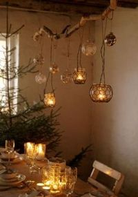 If you are a rustic style lover then you will definitely like this creative DIY Chandeliers made from a rustic tree. See it bellow and enjoy! source source sour