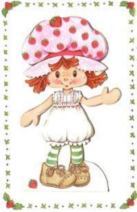 Strawberry shortcake paper dolls
