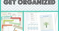 10 Free Resources to Help you Get Organized!
