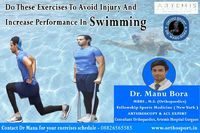 Do These Exercises To Avoid Injury And Increase Performance in Swimming