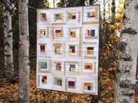 "This ""Baby Ingrid"" quilt from Krista of Spotted Stones is lovely in its simplicity (and colors!)."