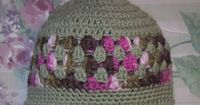 WOMAN'S GRANNY HAT free crochet pattern