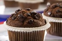 "When you think ""double chocolate chip muffins,"" the first word that comes to your mind most definitely isn't ""healthy"" or &qu..."