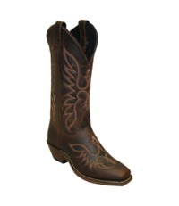 Ladies Abilene 12�€� Brown Cowhide Western with Genuine Leather Outsole # A9108 $169.99
