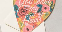 You Have My Heart Card #anthrofave