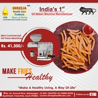 Shreeja Health Care is leading manufacturer of Oil Maker Machine.