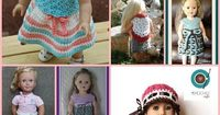 If you have a little girl that loves her American Girl Doll, then you'll love this post. You probably already love to crochet for your little girl and she will be so happy to have a matching dress ...