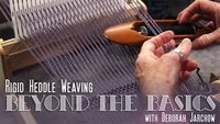 Artist Deborah Jarchow demonstrates a variety of rigid heddle techniques for weavers who want to create more complex and beautiful fabrics.