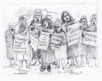 Women's March Limited edition archival pigment prints $120.00