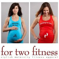 For Two Fitness - Pregnancy workout wear - so cute!