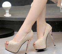 Sexy Sweet Stiletto High Heels Platform Peep Toe Club Party Women Pumps Shoes,NEW,on Sale!