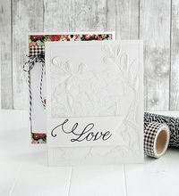 Bridal Challenge: Love Card by Danielle Flanders for Papertrey Ink (August 2015)